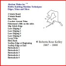 Hobby Knitting Machine Edges, Trims & More DVD