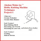 Hobby Knitting Machine Projects 1 DVD