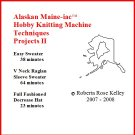 Hobby Knitting Machine Projects 2 DVD