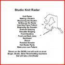 Using your Studio Knit Radar