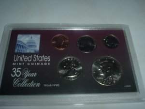 1998 US Mint Set