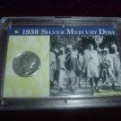 1930 Silver Mercury Dime Series