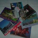 Six  4x6 Unused Post Cards