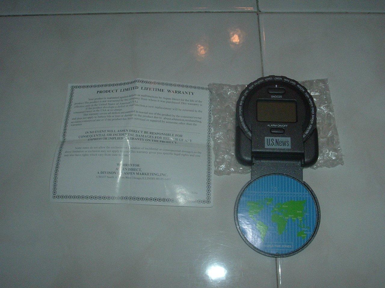 New Quartz or World Clock