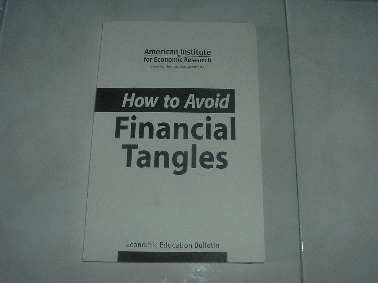How To Avoid Financial Tangles - Soft Cover