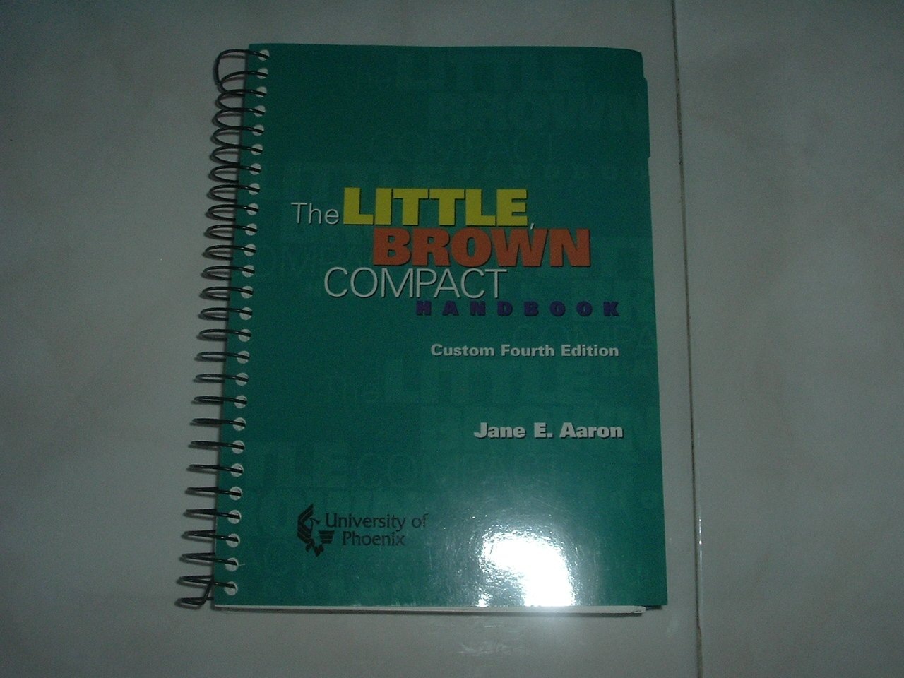 The Little Brown Compact Handbook -  Sprial Soft Cover