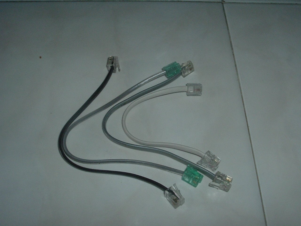 """Phone Patch Cords - 7"""""""