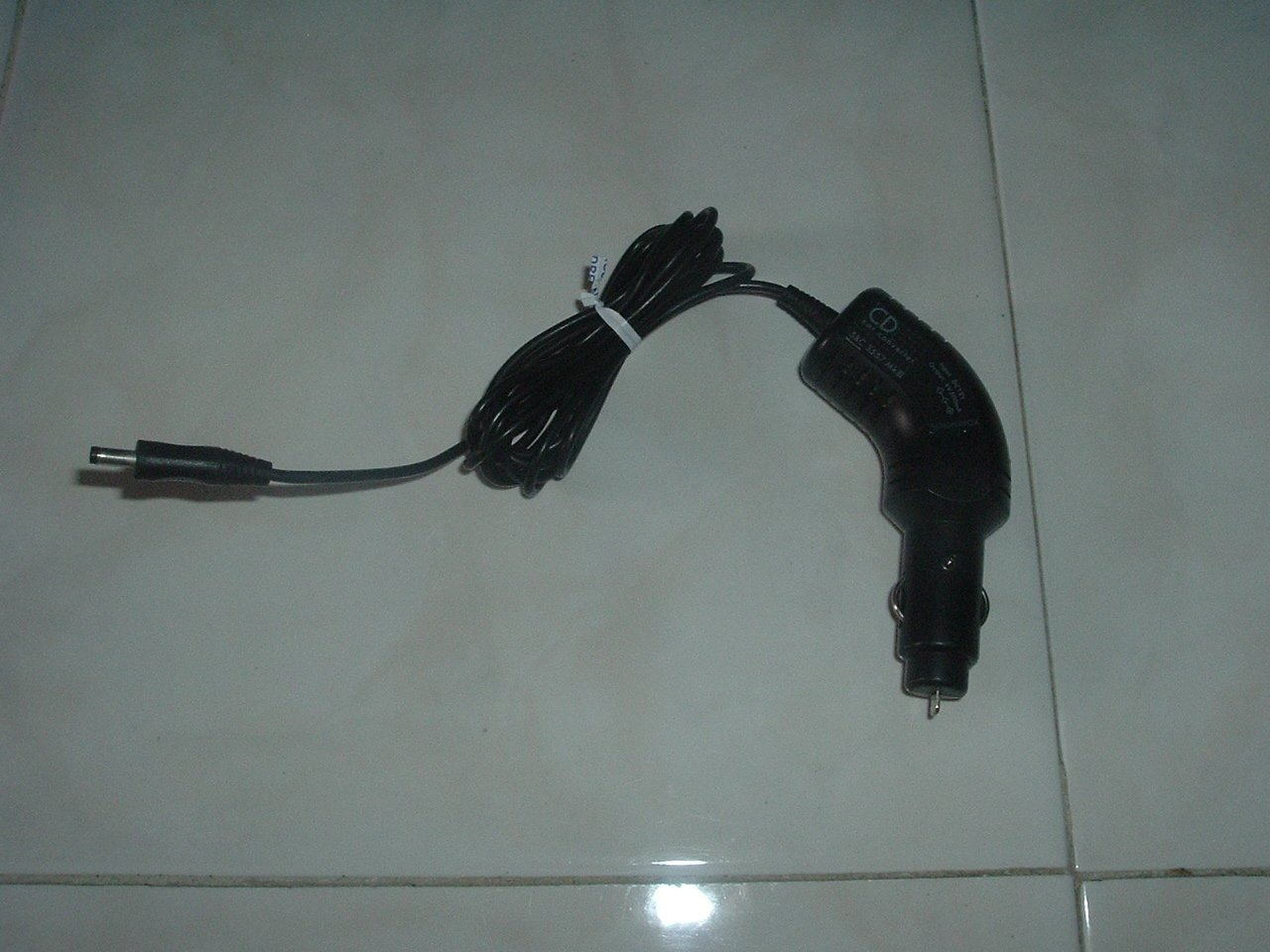 Cigarette Lighter Power Device Cable 45 degrees