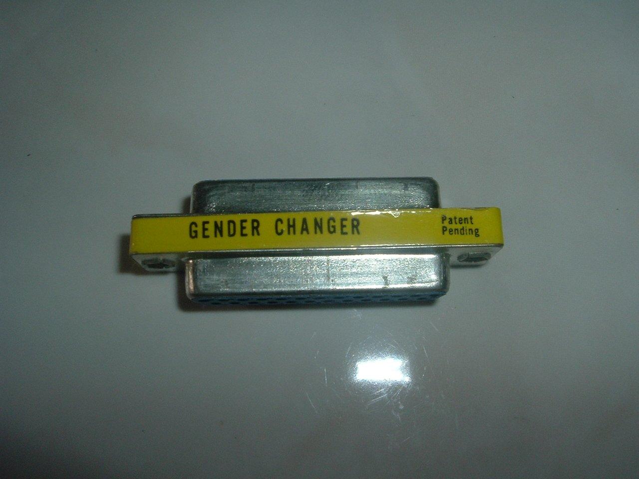25 Pin Gender Changer