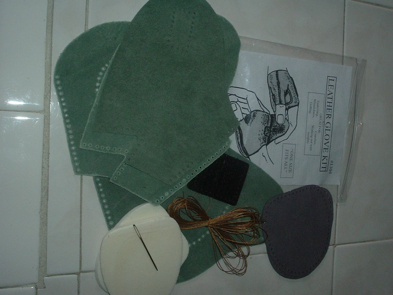 Leather Glove Kit - New