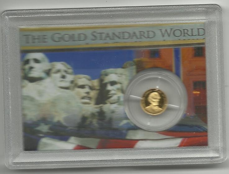 2009 Proof Solid Gold Abraham Lincoln Collection