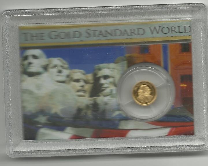 2010 Proof Solid Gold 1 Rand Collection