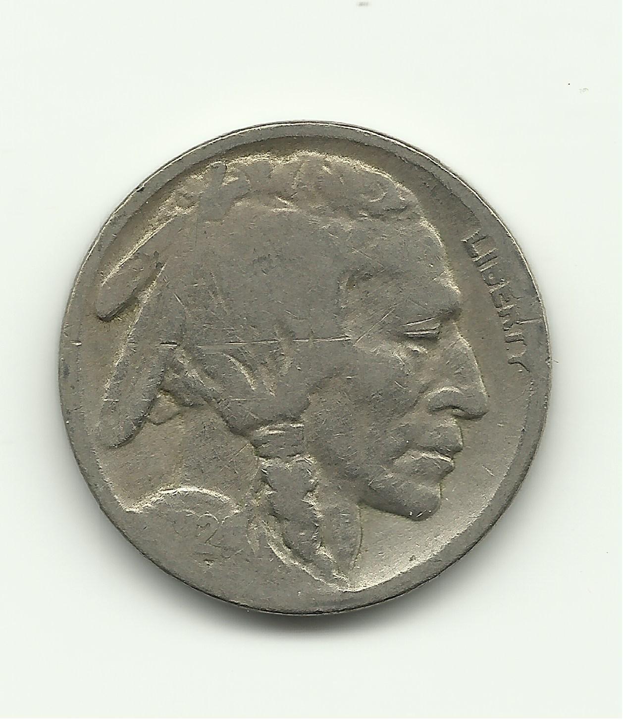 1924 #1 Buffalo Nickel