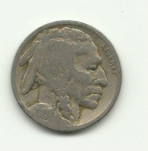 1920 #8 Buffalo Nickel