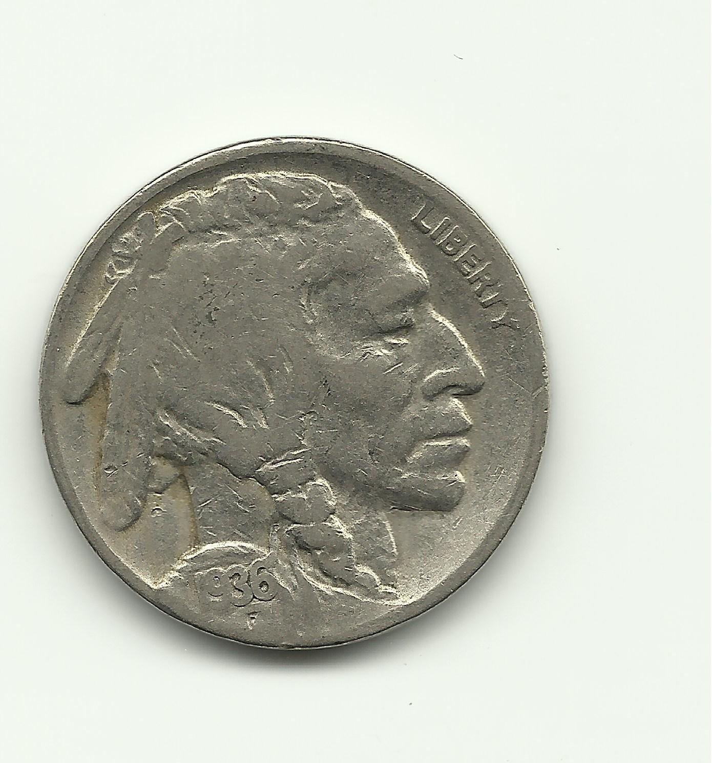 1936 #2 Buffalo Nickel