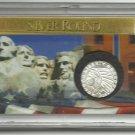 Unc. 1/10 OZ. Incuse 1929 Indian Head Silver