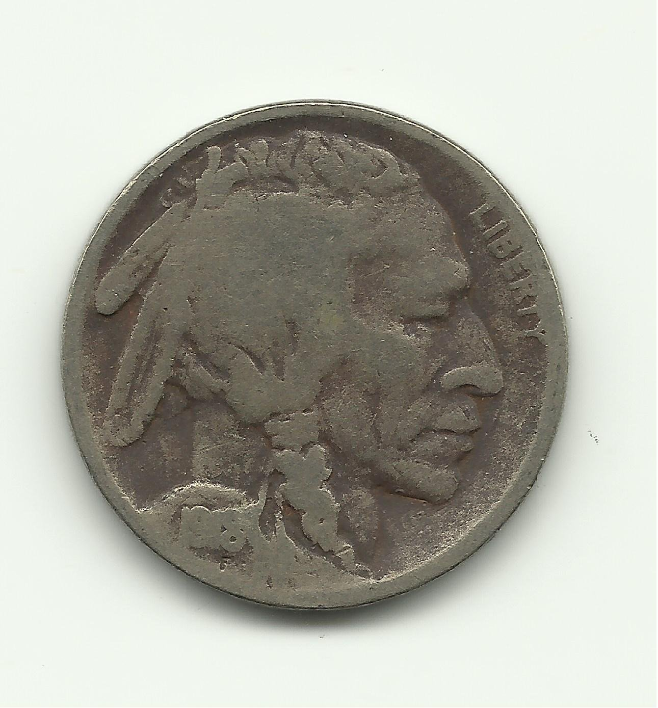1918 #2 Buffalo Nickel