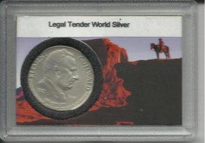 1921-1951 Czechoslovakia  100 Silver Korun