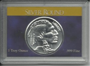 2010 1 Troy Oz. Indian Head Silver