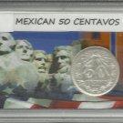 1920 #1 Mexican 50 Centavos Silver.