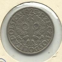 1923 POLAND 20 GROSZY