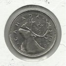 1990 Canadian  Quarter
