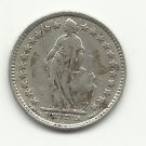 1913-B #1   Silver 1/2 Franc from Switzerland