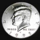 BU 1995-D Kennedy Half Dollar.