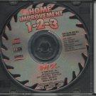 Home Depot - Home Improvements 1-2-3 software CD.
