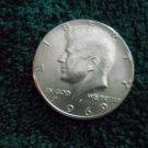 1969-D #5 Gem BU Silver Kennedy Half Dollar