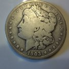 1903 #1 Rare and Tough date Morgan Silver Dollar.