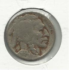 1934 #5 Buffalo Nickel.