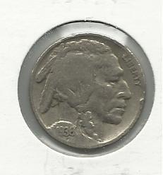 1936 #15 Buffalo Nickel