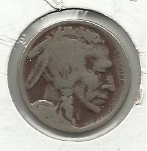 1919 #5 Buffalo Nickel.