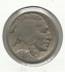 1924 #5 Buffalo Nickel