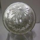1944 #6 Unc.  Mexican Un Peso Silver Dollar