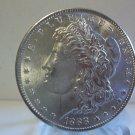 1888 #1 AU/BU 90% Silver Morgan Dollar.