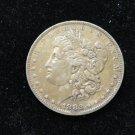 1882 O/S #2 MORGAN SILVER DOLLAR.
