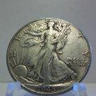 1945  #3  90% Silver Walking Liberty Half Dollar.