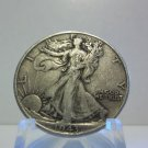 1943  #1  90% Silver Walking Liberty Half Dollar.