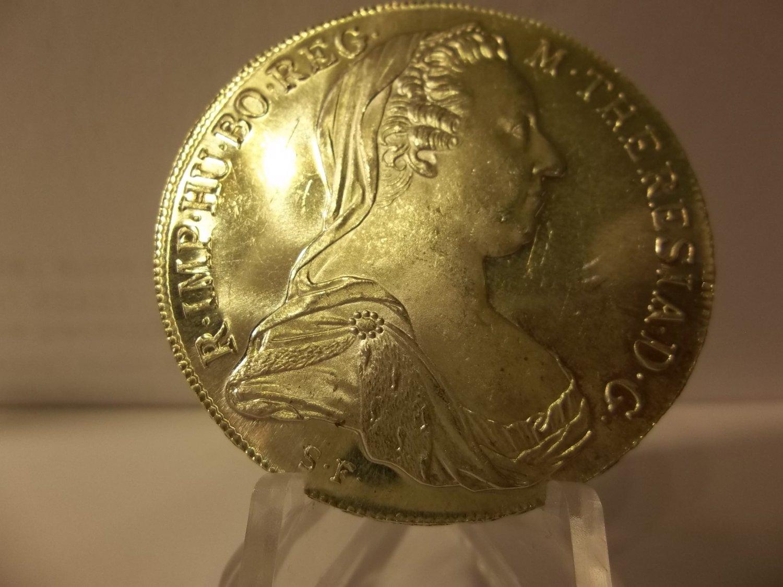 1780 #2 BU Maria Theresa thaler silver
