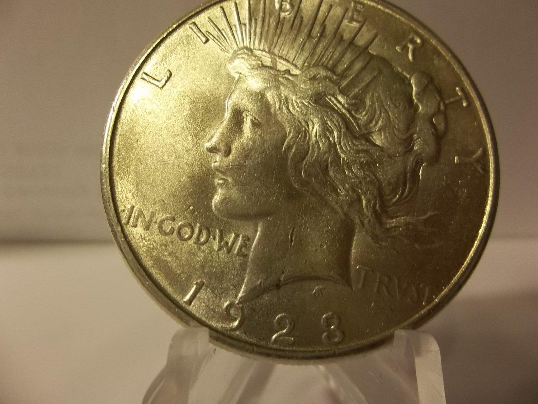 1923-S #2  Peace 90%  Silver Dollar