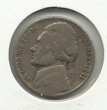 1941 #1 Jefferson Nickel