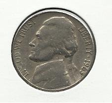 1963-D #1 Jefferson Nickel.