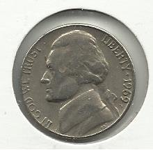 1969-D #1 Jefferson Nickel.