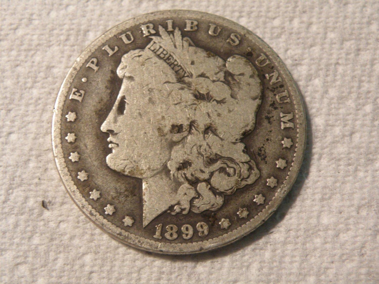 1899-O  #1  90% Silver  Morgan Dollar.