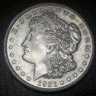 1921-S #4  90% Silver  Morgan Dollar.