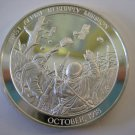 Issued in 1974 US Marine 1st Aerial Resupply Mission Commemorative Proof