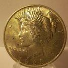 1923 #8  Peace 90%  Silver Dollar.