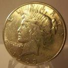 1923-S #4  Peace 90%  Silver Dollar